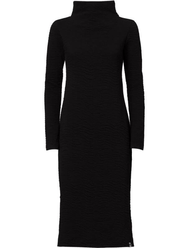 Figurbetontes Sweat-Kleid SARIN black