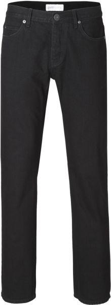 Vegane Herren-Jeans - Straight - Black One Wash