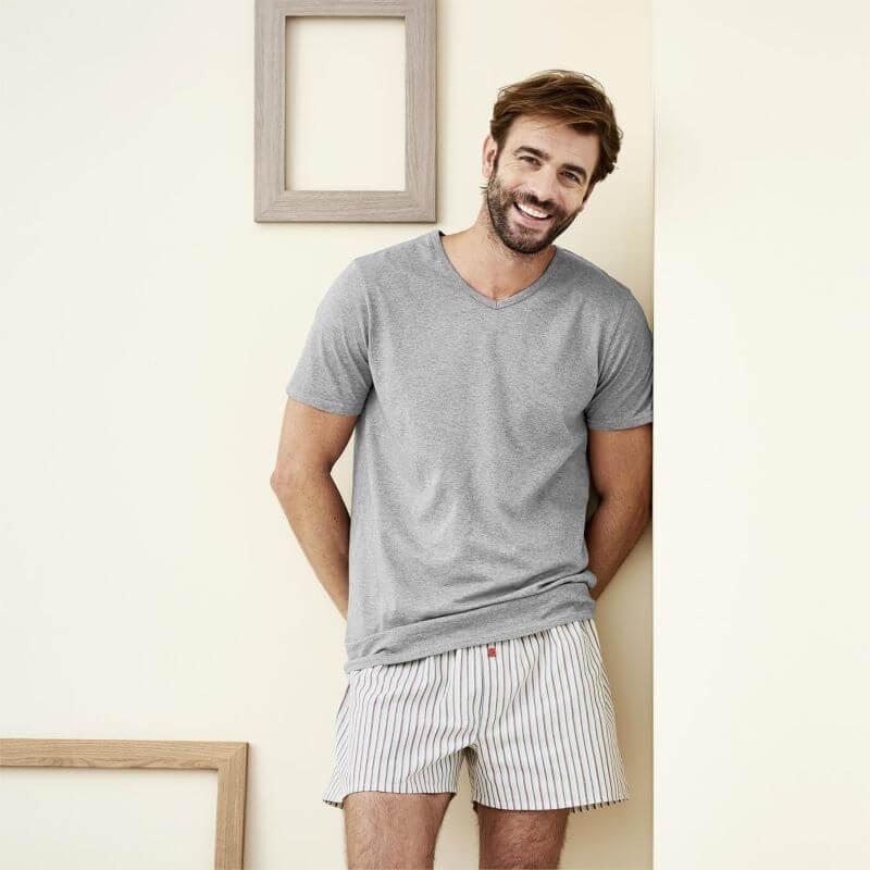 Boxer-Shorts im Doppelpack salvia/natural