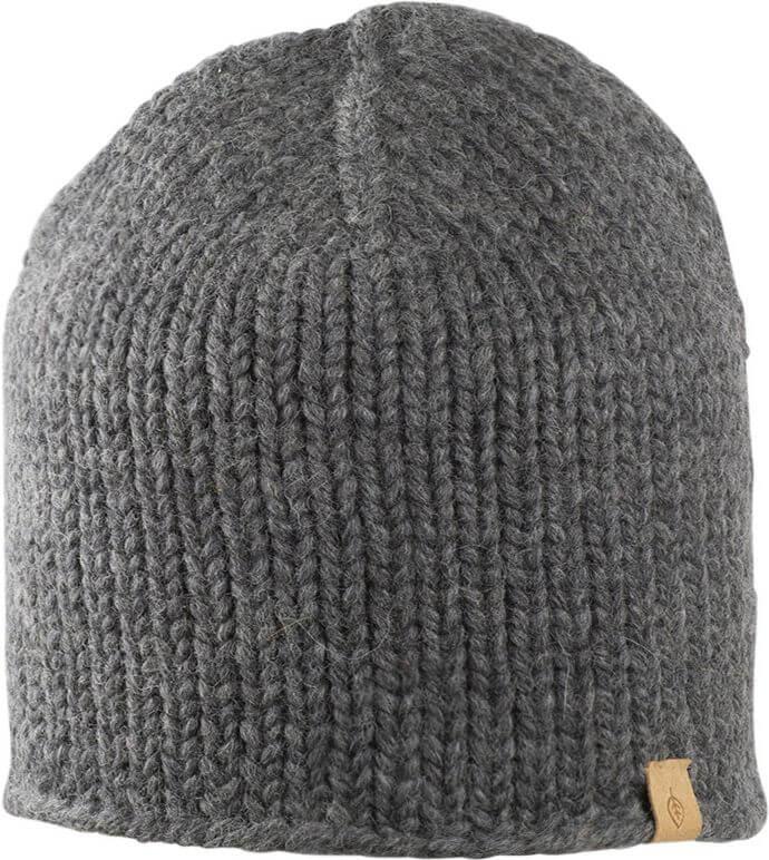 Weiche Beanie-Mütze für Damen in Dunkelgrau