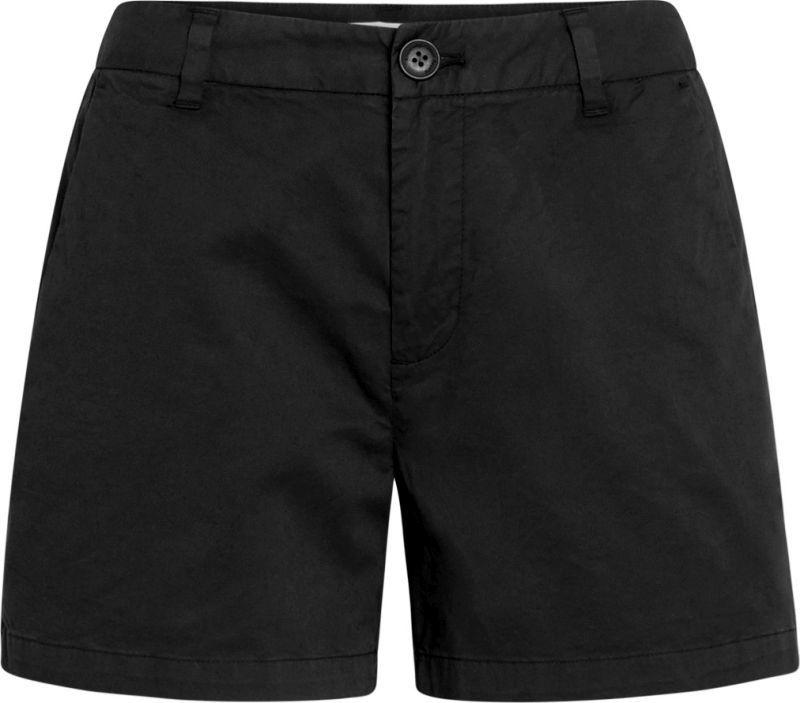 Schwarze Chino-Shorts für Damen WILLOW