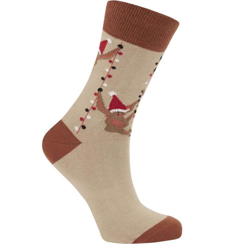 Bequeme Socken SOS sand unisex