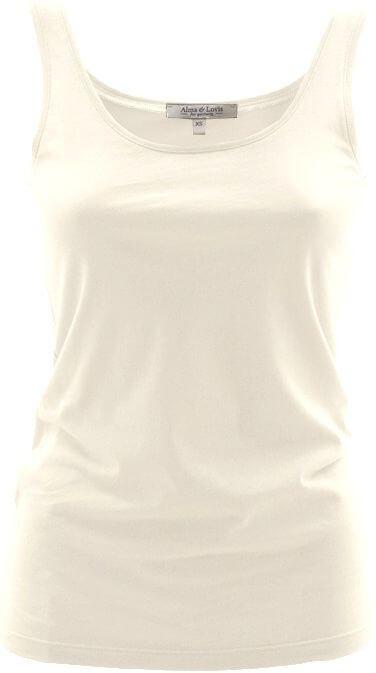 Weiches Basic Damen-Top white