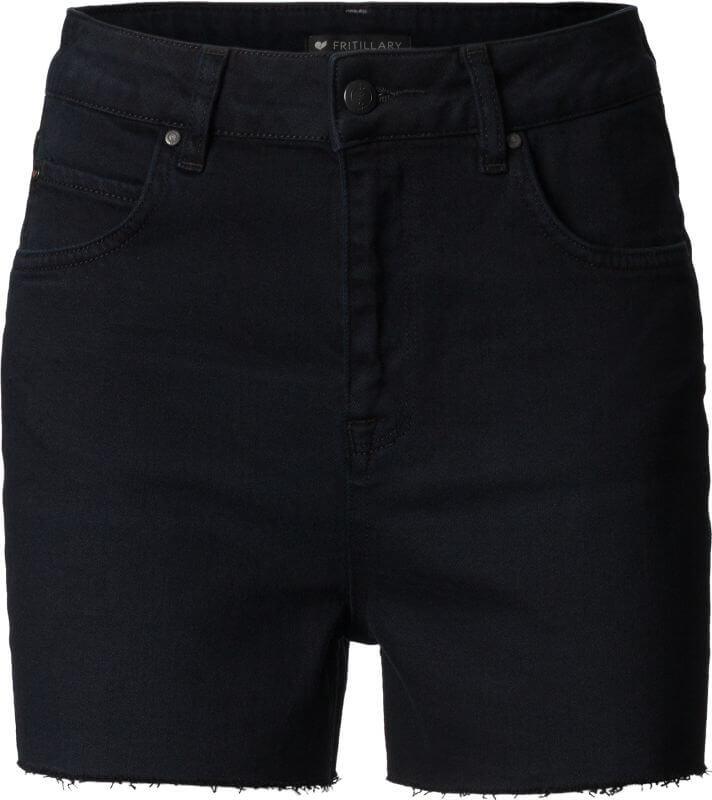 Modische Damen-Shorts FRITTILARY overdyed black
