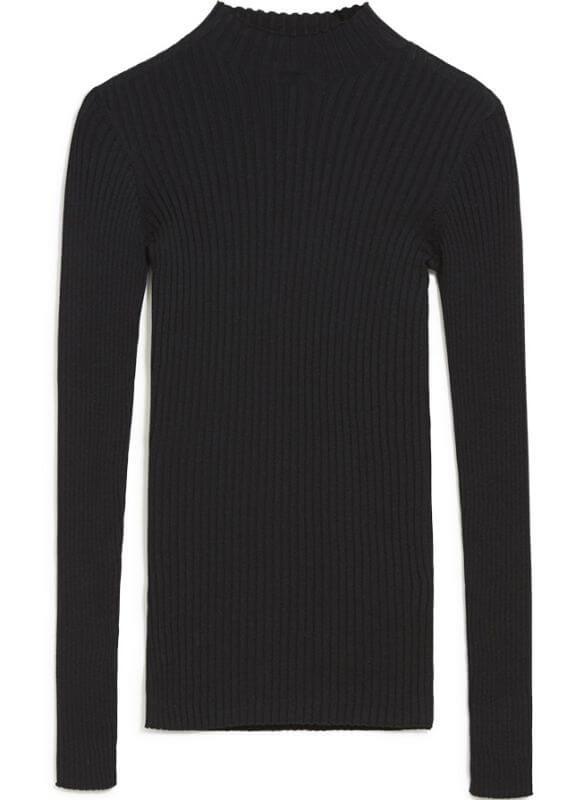 Damen-Pullover ALAANI black