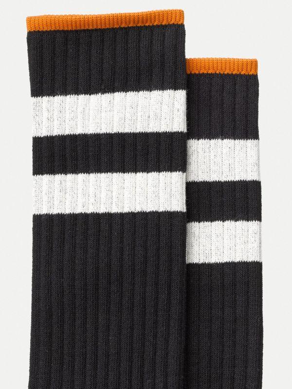Socken Amundsson Sport in Black-White Onesize