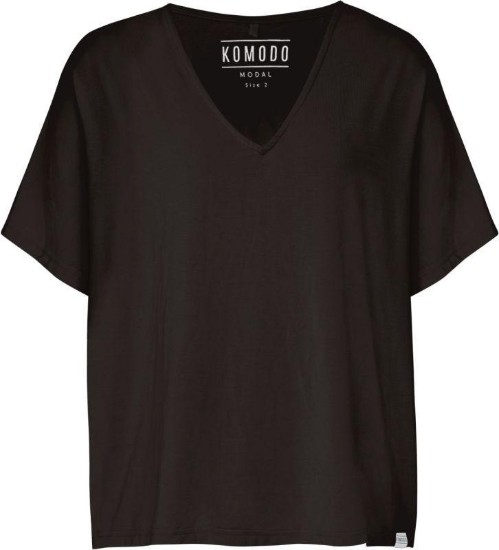 Lockeres Damen-Shirt PACHA in Schwarz