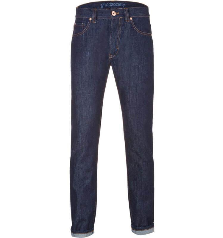 Herren-Jeans - Slim Straight Fit - Raw One Wash