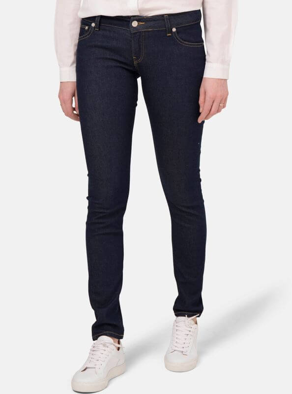 Damen Jeans Skinny Lilly strong blue